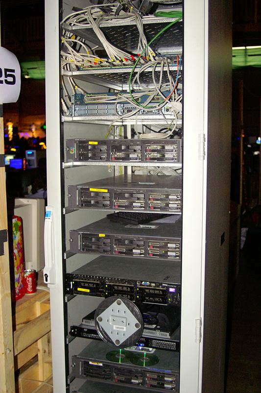 DreamHack 2007 - netwerkapparatuur