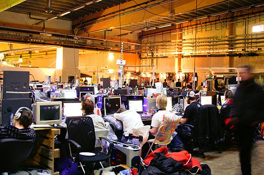 DreamHack 2007 - nog eens hal C