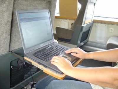 Internet in trein