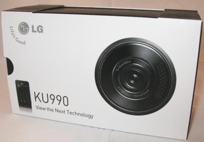 Verpakking LG Viewty
