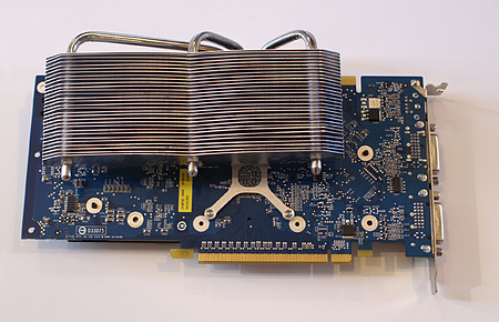 Sparkle GeForce 8800 GT Cool-pipe 3 (achterkant)