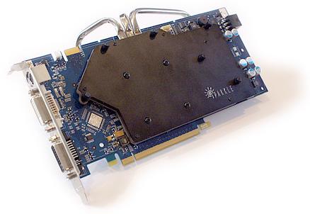 Sparkle GeForce 8800 GT Cool-pipe 3 (voorkant)