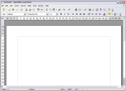 OpenOffice.org Writer screenshot (410 pix)