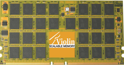 Violin scalable memory