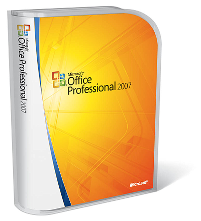 Microsoft Office 2007 - verpakking
