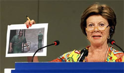 Neelie Kroes, commissaris van de Europese Commissie