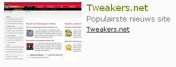 Tweakers.net populairste nieuwssite