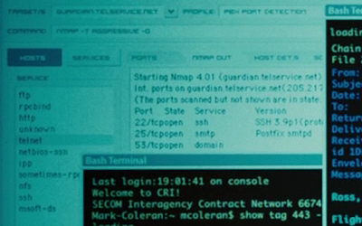 Nmap 4.50 - Bourne Ultimatum close up