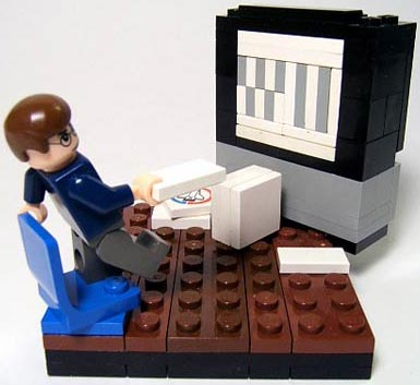 Wii in Lego