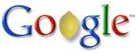 Google-logo met citroen voor Knol
