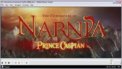 Media Player Classic 6.4.9.1 screenshot (410 pix)