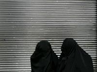 Gesluierde vrouwen in Iran