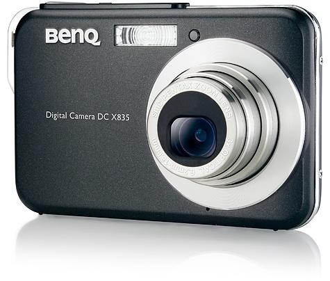 BenQ DC-X835 - zwart, vooraanzicht