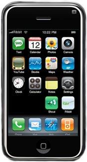 Ribbit iPhone-kloon