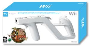 Wii Zapper en Link's Crossbow - boxart