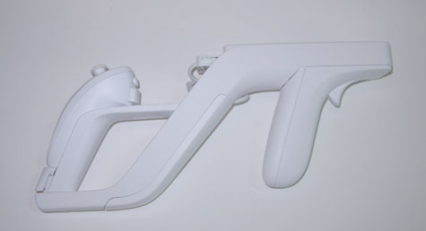 Wii Zapper - zijaanzicht