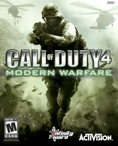 Call of Duty 4: Modern Warfare - box shot (410 pix)