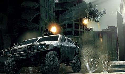 Frontlines - vehicle combat