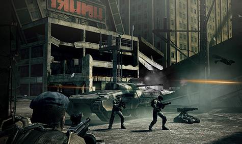 Frontlines - urban combat