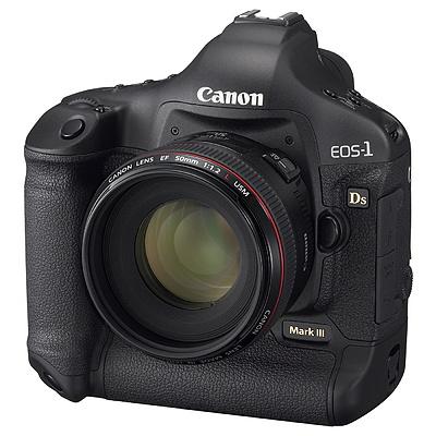 Canon EOS-1Ds Mark III - voorkant