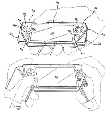 Nokia gamemobieltje patent