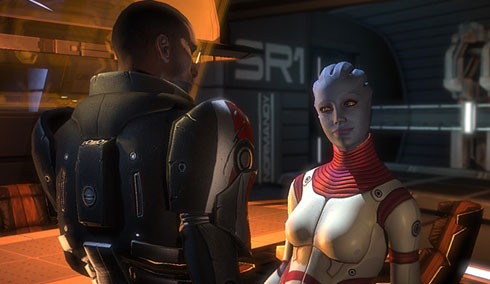 Mass Effect - screen