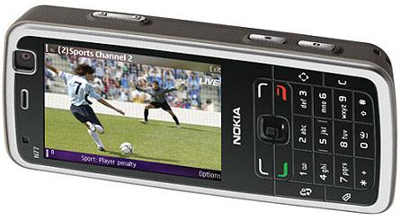 Nokia N77 met dvb-h