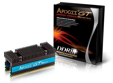 Chaintech Apogee GT PC3-16000 ddr3-geheugen