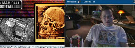 Mysterieuze informatie en webcam conversaties