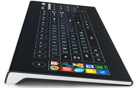 Optimus Tactus-keyboard