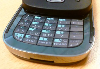 HTC Touch Dual 20 toetsen qwerty