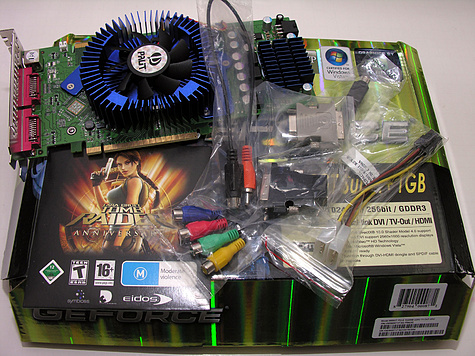 Palit GeForce 8800GT retaildoos