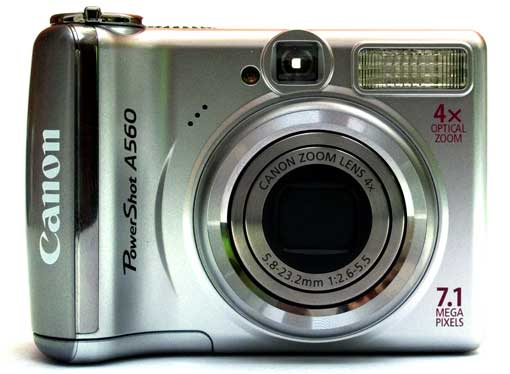 Canon A560 Voorkant