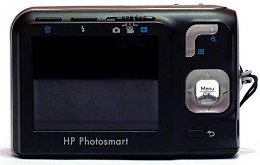HP Mz67 Achterkant