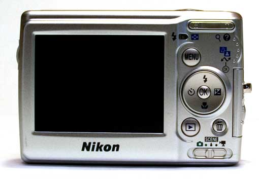 Nikon L11 Achterkant