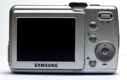 Samsung S85 Achterkant