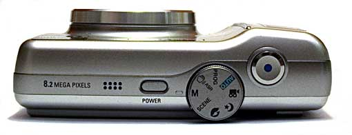 Samsung S85 Bovenkant