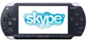 PSP met Skype