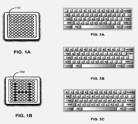 Apple oled-keyboard patent