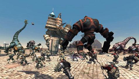 Makers Dungeon Siege werken aan Demigod