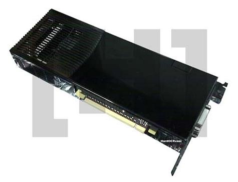 GeForce 9800 GX2 Onderkant
