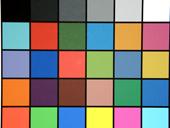 HP MZ67 Kleurkaartfoto (thumbnail)