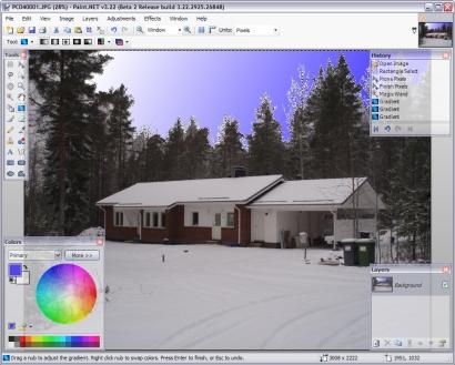 Paint.NET 3.22 beta 2 screenshot (410 pix)