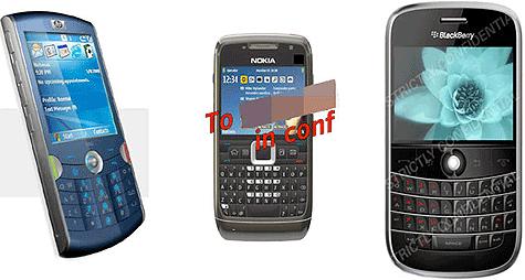 Uitgelekte foto's nieuwe smartphones