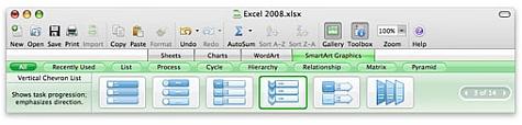 Mac Office 2008 Excel