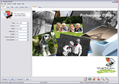 VueScan 8.4.59 screenshot (410 pix)