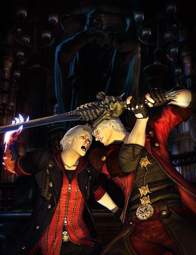 Devil May Cry 4 -- Nero en Dante