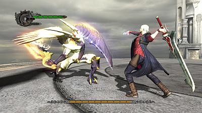 Devil May Cry 4: Dante in actie
