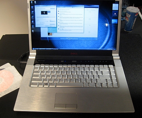 Dell16 inch notebook prototype