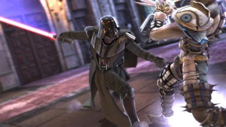 Darth Vader verschijnt in Soul Calibur IV voor de PS3